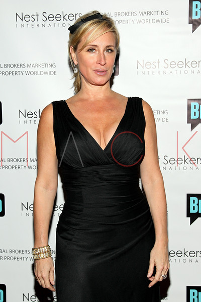 New York, NY - March 02: Sonja Morgan at the 'Million Dollar Listing New York' premiere at Catch Roof on Friday, March 2, 2012 in New York, NY.  (Photo by Steve Mack/S.D. Mack Pictures)