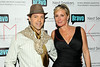 New York, NY - March 02: Socialite EricAndrew, Sonja Morgan at the 'Million Dollar Listing New York' premiere at Catch Roof on Friday, March 2, 2012 in New York, NY.  (Photo by Steve Mack/S.D. Mack Pictures)