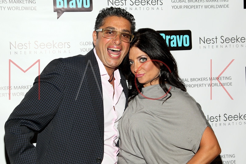 New York, NY - March 02: Rich Wakile, Kathy Wakile at the 'Million Dollar Listing New York' premiere at Catch Roof on Friday, March 2, 2012 in New York, NY.  (Photo by Steve Mack/S.D. Mack Pictures)