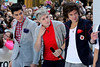 New York, NY - March 12: Zayn Malik, Niall Horan, Harry Styles at NBC Today Show Concert with One Direction at Rockefeller Plaza on Monday, March 12, 2012 in New York, NY.  (Photo by Steve Mack/S.D. Mack Pictures)