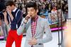 New York, NY - March 12: Louis Tomlinson, Zayn Malik at NBC Today Show Concert with One Direction at Rockefeller Plaza on Monday, March 12, 2012 in New York, NY.  (Photo by Steve Mack/S.D. Mack Pictures)