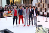 New York, NY - March 12: Niall Horan, Louis Tomlinson, Zayn Malik, Liam Payne, Harry Styles at NBC Today Show Concert with One Direction at Rockefeller Plaza on Monday, March 12, 2012 in New York, NY.  (Photo by Steve Mack/S.D. Mack Pictures)