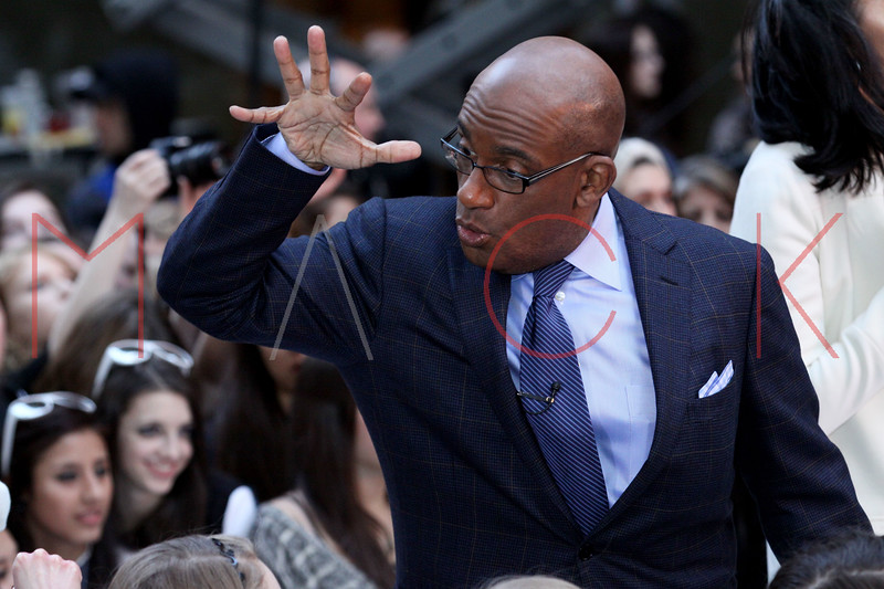 New York, NY - March 12: Al Roker at NBC Today Show Concert with One Direction at Rockefeller Plaza on Monday, March 12, 2012 in New York, NY.  (Photo by Steve Mack/S.D. Mack Pictures)
