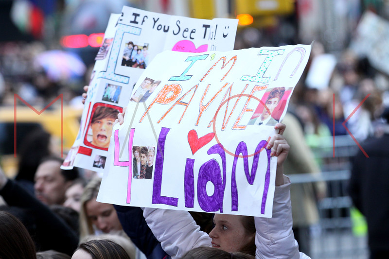 New York, NY - March 12:  at NBC Today Show Concert with One Direction at Rockefeller Plaza on Monday, March 12, 2012 in New York, NY.  (Photo by Steve Mack/S.D. Mack Pictures)