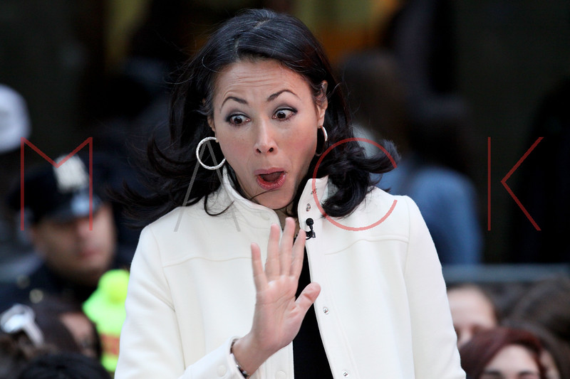 New York, NY - March 12: Ann Curry at NBC Today Show Concert with One Direction at Rockefeller Plaza on Monday, March 12, 2012 in New York, NY.  (Photo by Steve Mack/S.D. Mack Pictures)