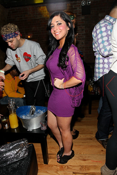 NEW YORK, NY - MARCH 10:  Angelina Pivarnick attends Ramona Rizzo's birthday event at Element on March 10, 2012 in New York City.  (Photo by Steve Mack/S.D. Mack Pictures)