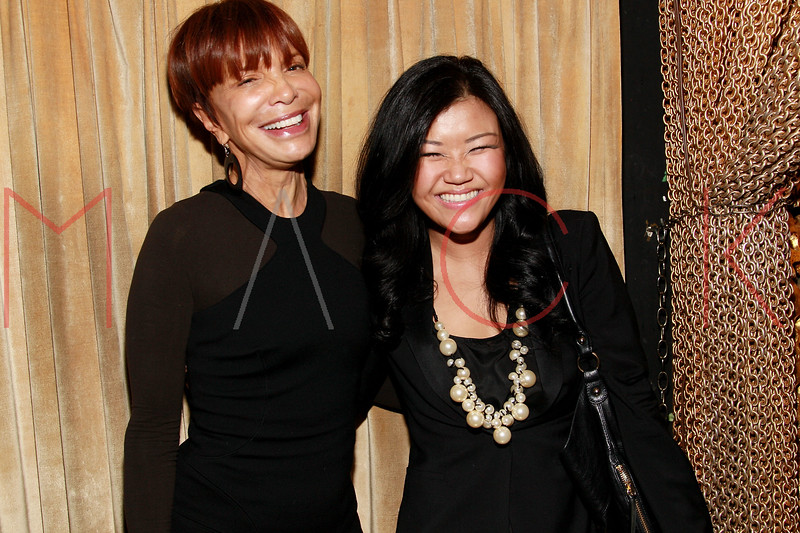 NEW YORK, NY - MARCH 11:  Music industry executive Sylvia Rhone and Cat Ahn attend Sylvia Rhone's surprise birthday party at Goldbar on March 11, 2012 in New York City.  (Photo by Steve Mack/S.D. Mack Pictures)