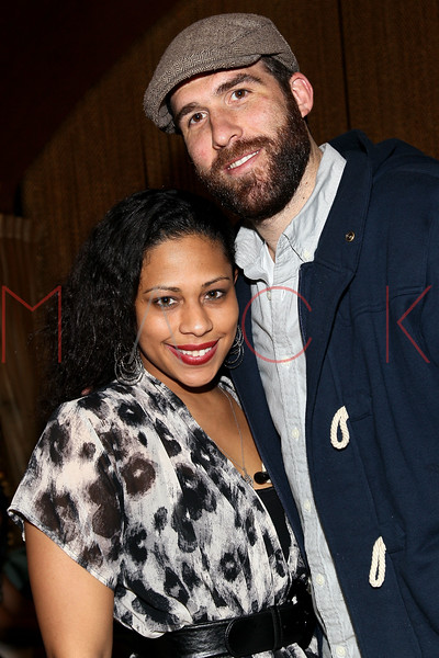 NEW YORK, NY - MARCH 11:  Jenn Goldson and Dan Solomito attend Sylvia Rhone's surprise birthday party at Goldbar on March 11, 2012 in New York City.  (Photo by Steve Mack/S.D. Mack Pictures)