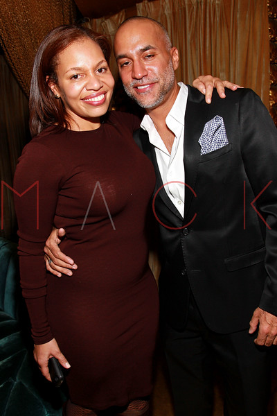 NEW YORK, NY - MARCH 11:  Quinn Rhone and Fernando Carbonell attend Sylvia Rhone's surprise birthday party at Goldbar on March 11, 2012 in New York City.  (Photo by Steve Mack/S.D. Mack Pictures)