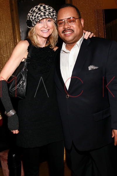 NEW YORK, NY - MARCH 11:  Janine Richardson and Monte Bailey attend Sylvia Rhone's surprise birthday party at Goldbar on March 11, 2012 in New York City.  (Photo by Steve Mack/S.D. Mack Pictures)