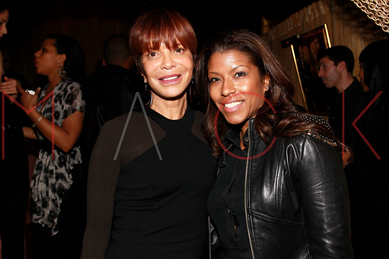 NEW YORK, NY - MARCH 11:  Music industry executive Sylvia Rhone and Designer Priya Scroggins attend Sylvia Rhone's surprise birthday party at Goldbar on March 11, 2012 in New York City.  (Photo by Steve Mack/S.D. Mack Pictures)