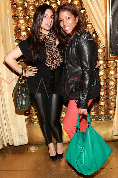 NEW YORK, NY - MARCH 11:  Kiran Prasher and designer Priya Scroggins attend Sylvia Rhone's surprise birthday party at Goldbar on March 11, 2012 in New York City.  (Photo by Steve Mack/S.D. Mack Pictures)