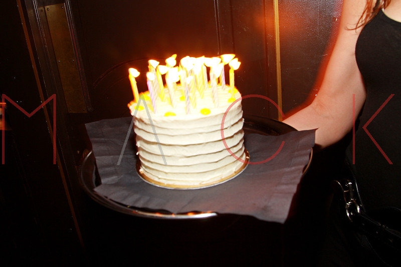 NEW YORK, NY - MARCH 11:  Atmosphere (birthday cake) at Sylvia Rhone's surprise birthday party at Goldbar on March 11, 2012 in New York City.  (Photo by Steve Mack/S.D. Mack Pictures)