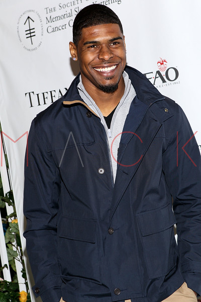 NEW YORK, NY - MARCH 06:  Wide Receiver for the NY Giants Ramses Barden attends the 21st Annual Bunny Hop at FAO Schwarz on March 6, 2012 in New York City.  (Photo by Steve Mack/S.D. Mack Pictures)