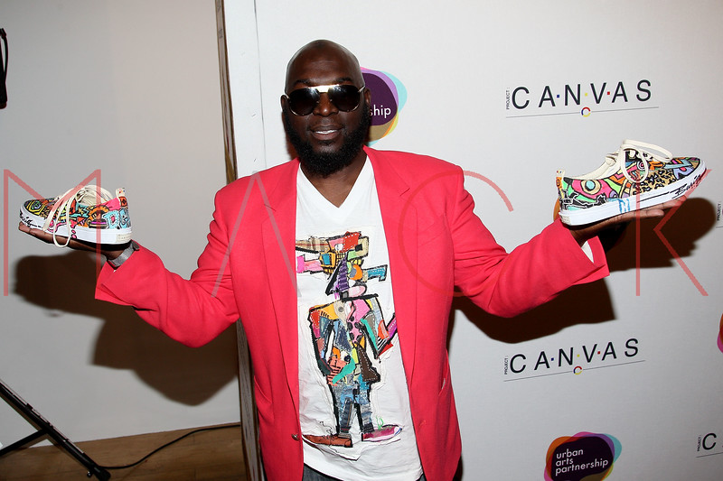 NEW YORK, NY - MAY 11:  Bariq attends the Project Canvas Charity Event Hosted By Nick Cannon at The Opera Ballroom at Crest on May 11, 2012 in New York City.  (Photo by Steve Mack/S.D. Mack Pictures)