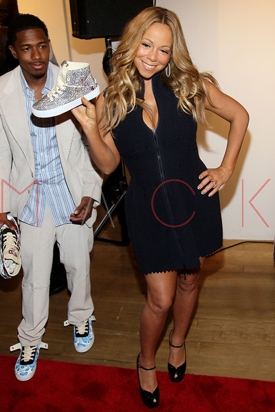 NEW YORK, NY - MAY 11:  Nick Cannon and Mariah Carey attend the Project Canvas Charity Event Hosted By Nick Cannon at The Opera Ballroom at Crest on May 11, 2012 in New York City.  (Photo by Steve Mack/S.D. Mack Pictures)
