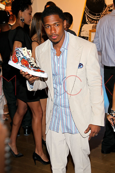 NEW YORK, NY - MAY 11:  Nick Cannon attends the Project Canvas Charity Event Hosted By Nick Cannon at The Opera Ballroom at Crest on May 11, 2012 in New York City.  (Photo by Steve Mack/S.D. Mack Pictures)