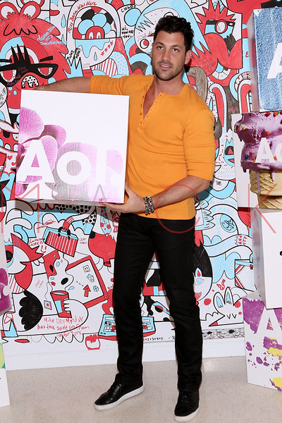 NEW YORK, NY - NOVEMBER 29:  Maksim Chmerkovskiy attends AOL's New National Commercial open call at AOL Studios In New York on November 29, 2012 in New York City.  (Photo by Steve Mack/S.D. Mack Pictures)