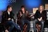 "NEW YORK, NY - NOVEMBER 27:  Jon Bon Jovi, Richie Sambora and David Bryan attend the ""BON JOVI Inside Out"" press conference at AMC Empire 25 theater on November 27, 2012 in New York City.  (Photo by Steve Mack/S.D. Mack Pictures)"
