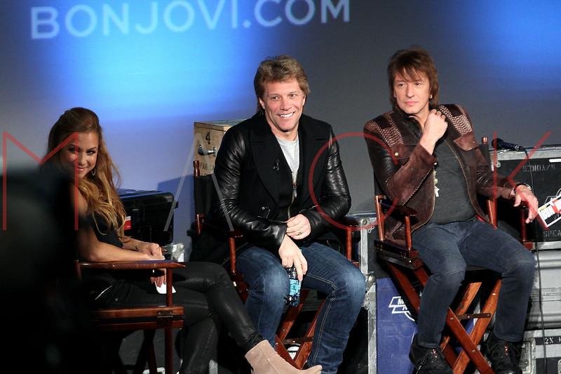 "NEW YORK, NY - NOVEMBER 27:  Jon Bon Jovi attends the ""BON JOVI Inside Out"" press conference at AMC Empire 25 theater on November 27, 2012 in New York City.  (Photo by Steve Mack/S.D. Mack Pictures)"