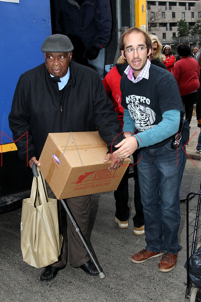 NEW YORK, NY - NOVEMBER 10:  Atmosphere at Carmelo Anthony's Storm Relief Project on November 10, 2012 in New York City.  (Photo by Steve Mack/S.D. Mack Pictures)