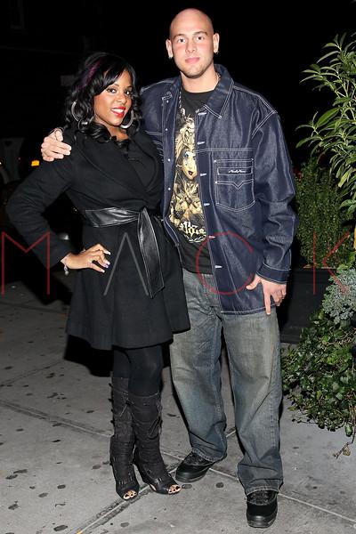 NEW YORK, NY - NOVEMBER 10:  Kelly Linton and Casey Cartel seen at Cebu Restaurant on November 10, 2012 in New York City.  (Photo by Steve Mack/S.D. Mack Pictures)