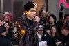 """NEW YORK, NY - NOVEMBER 13:  Louis Tomlinson of One Direction performs on NBC's """"Today"""" at Rockefeller Plaza on November 13, 2012 in New York City.  (Photo by Steve Mack/S.D. Mack Pictures)"""