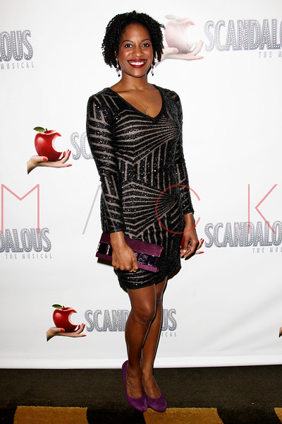 "NEW YORK, NY - NOVEMBER 15:  Danyelle Williamson attends the ""Scandalous"" Broadway Opening Night"" After Party at Copacabana on November 15, 2012 in New York City.  (Photo by Steve Mack/S.D. Mack Pictures)"