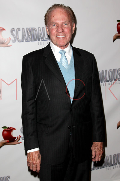 """NEW YORK, NY - NOVEMBER 15:  Frank Gifford attends the """"Scandalous"""" Broadway Opening Night"""" After Party at Copacabana on November 15, 2012 in New York City.  (Photo by Steve Mack/S.D. Mack Pictures)"""