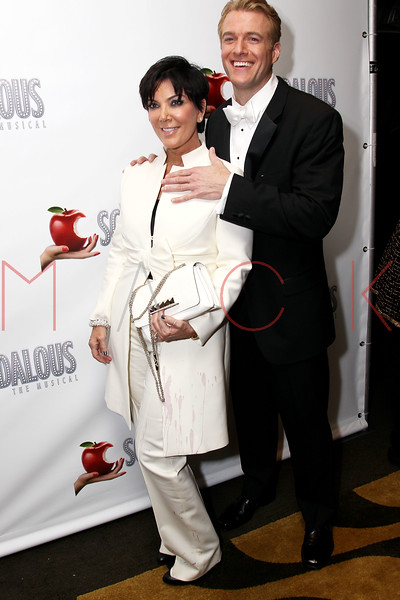 "NEW YORK, NY - NOVEMBER 15:  \Kris Jenner and Edward Watts attend the ""Scandalous"" Broadway Opening Night"" After Party at Copacabana on November 15, 2012 in New York City.  (Photo by Steve Mack/S.D. Mack Pictures)"