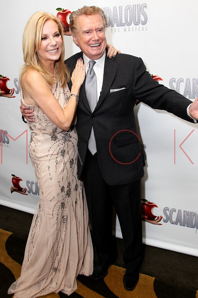 "NEW YORK, NY - NOVEMBER 15:  Kathie Lee Gifford and Regis Philbin attend the ""Scandalous"" Broadway Opening Night"" After Party at Copacabana on November 15, 2012 in New York City.  (Photo by Steve Mack/S.D. Mack Pictures)"