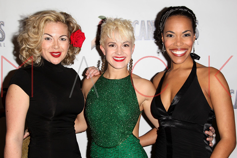 "NEW YORK, NY - NOVEMBER 15:  Billie Wildrick, Betsy Struxness and Erica Dorfler attend the ""Scandalous"" Broadway Opening Night"" After Party at Copacabana on November 15, 2012 in New York City.  (Photo by Steve Mack/S.D. Mack Pictures)"