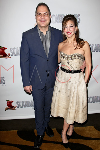 "NEW YORK, NY - NOVEMBER 15:  David Friedman and Lorin Latarro attend the ""Scandalous"" Broadway Opening Night"" After Party at Copacabana on November 15, 2012 in New York City.  (Photo by Steve Mack/S.D. Mack Pictures)"