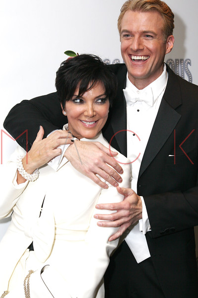 """NEW YORK, NY - NOVEMBER 15:  \Kris Jenner and Edward Watts attend the """"Scandalous"""" Broadway Opening Night"""" After Party at Copacabana on November 15, 2012 in New York City.  (Photo by Steve Mack/S.D. Mack Pictures)"""