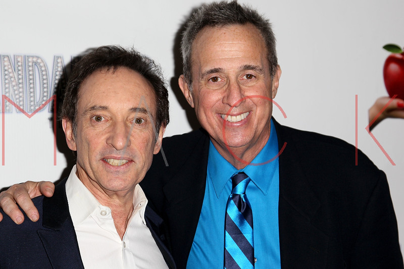 "NEW YORK, NY - NOVEMBER 15:  David Pomeranz and David Friedman attend the ""Scandalous"" Broadway Opening Night"" After Party at Copacabana on November 15, 2012 in New York City.  (Photo by Steve Mack/S.D. Mack Pictures)"