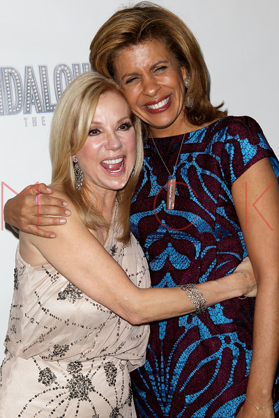 "NEW YORK, NY - NOVEMBER 15:  Kathie Lee Gifford and Hoda Kotb attend the ""Scandalous"" Broadway Opening Night"" After Party at Copacabana on November 15, 2012 in New York City.  (Photo by Steve Mack/S.D. Mack Pictures)"