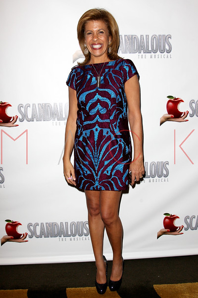 """NEW YORK, NY - NOVEMBER 15:  Hoda Kotb attends the """"Scandalous"""" Broadway Opening Night"""" After Party at Copacabana on November 15, 2012 in New York City.  (Photo by Steve Mack/S.D. Mack Pictures)"""
