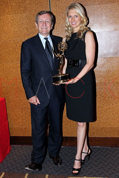 NEW YORK, NY - OCTOBER 01:  Brian Ross and Anna Schecter attend the 33rd annual News & Documentary Emmy awards at Frederick P. Rose Hall, Jazz at Lincoln Center on October 1, 2012 in New York City.  (Photo by Steve Mack/S.D. Mack Pictures)