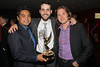 NEW YORK, NY - OCTOBER 01:  Rayner Ramirez, Nick Capote and Izhar Harpaz attend the 33rd annual News & Documentary Emmy awards at Frederick P. Rose Hall, Jazz at Lincoln Center on October 1, 2012 in New York City.  (Photo by Steve Mack/S.D. Mack Pictures)