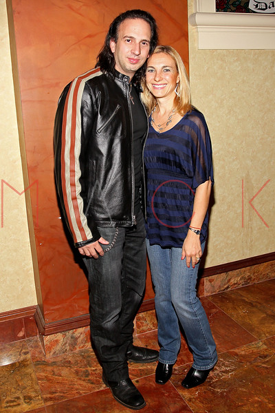 ATLANTIC CITY, NJ - OCTOBER 14:  Joseph Pepitone and wife Christine attend the Atlantic City Film Festival awards ceremony at Dante Hall Theater on October 14, 2012 in Atlantic City, New Jersey.  (Photo by Steve Mack/S.D. Mack Pictures)