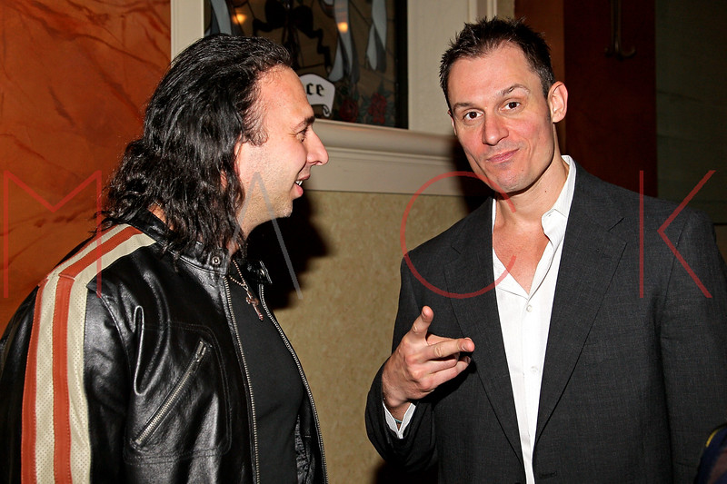 ATLANTIC CITY, NJ - OCTOBER 14:  Joseph Pepitone and Keith Collins attend the Atlantic City Film Festival awards ceremony at Dante Hall Theater on October 14, 2012 in Atlantic City, New Jersey.  (Photo by Steve Mack/S.D. Mack Pictures)