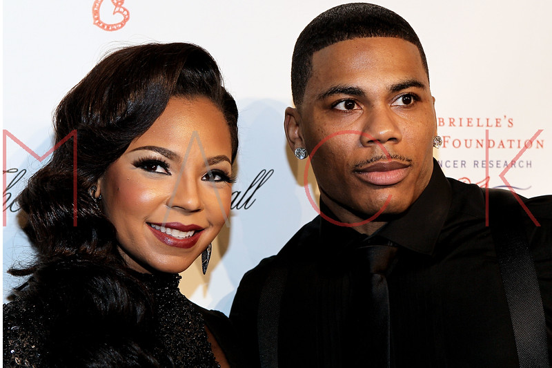 NEW YORK, NY - OCTOBER 22:  Ashanti and Nelly at Cipriani Wall Street on October 22, 2012 in New York City.  (Photo by Steve Mack/S.D. Mack Pictures)