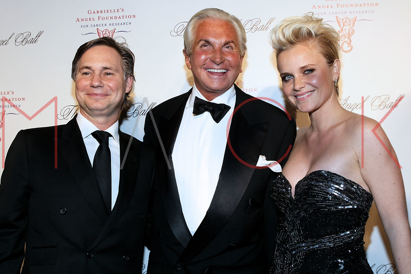 NEW YORK, NY - OCTOBER 22:  Jason Binn, George Hamilton and Barbara Sturm at Cipriani Wall Street on October 22, 2012 in New York City.  (Photo by Steve Mack/S.D. Mack Pictures)