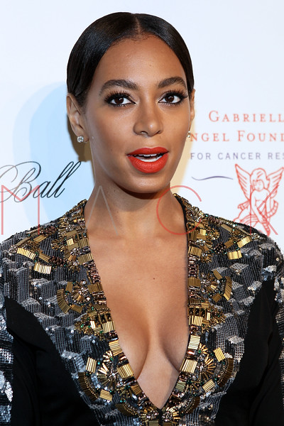 NEW YORK, NY - OCTOBER 22:  Solange Knowles at Cipriani Wall Street on October 22, 2012 in New York City.  (Photo by Steve Mack/S.D. Mack Pictures)