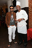 NEW YORK, NY - OCTOBER 03:  Shaggy and Basil Jones attend the Sounds of Reggae Media Meet and Greet with Shaggy at Sans Souci on October 3, 2012 in the Brooklyn borough of New York City.  (Photo by Steve Mack/S.D. Mack Pictures)