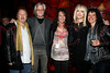 """NEW YORK, NY - OCTOBER 10:  Ken Dashaw, Jim Kerr, Shelly Sonstein, Carol Miller and Maria Milito promote the book """"Up All Night, My Life and Times in Rock Radio"""" at The Cutting Room on October 10, 2012 in New York City.  (Photo by Steve Mack/S.D. Mack Pictures)"""