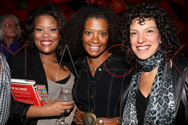 """NEW YORK, NY - OCTOBER 10:  Kim Kane, Helen Little and Maria Milito attend the book signing for """"Up All Night, My Life and Times in Rock Radio"""" at The Cutting Room on October 10, 2012 in New York City.  (Photo by Steve Mack/S.D. Mack Pictures)"""