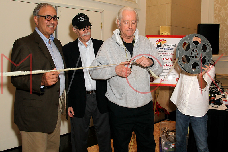 ATLANTIC CITY, NJ - OCTOBER 12:  Robert Downey Sr. cuts the ribbon at An Evening With Robert Downey Sr. during the 2012 Atlantic City Cinefest at Showboat Atlantic City on October 12, 2012 in Atlantic City, New Jersey.  (Photo by Steve Mack/S.D. Mack Pictures)