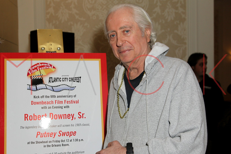 ATLANTIC CITY, NJ - OCTOBER 12:  Robert Downey Sr. attends An Evening With Robert Downey Sr. during the 2012 Atlantic City Cinefest at Showboat Atlantic City on October 12, 2012 in Atlantic City, New Jersey.  (Photo by Steve Mack/S.D. Mack Pictures)