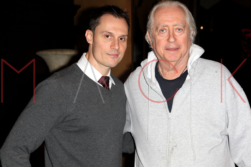 ATLANTIC CITY, NJ - OCTOBER 12:  Producer/actor Keith Collins and Robert Downey Sr. attend An Evening With Robert Downey Sr. during the 2012 Atlantic City Cinefest at Showboat Atlantic City on October 12, 2012 in Atlantic City, New Jersey.  (Photo by Steve Mack/S.D. Mack Pictures)